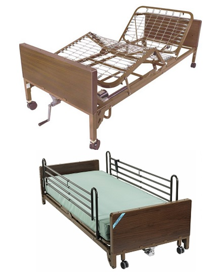 Medlab Supplies N.V. | Second Hand Semi Electric Bed (Tweede hands ...